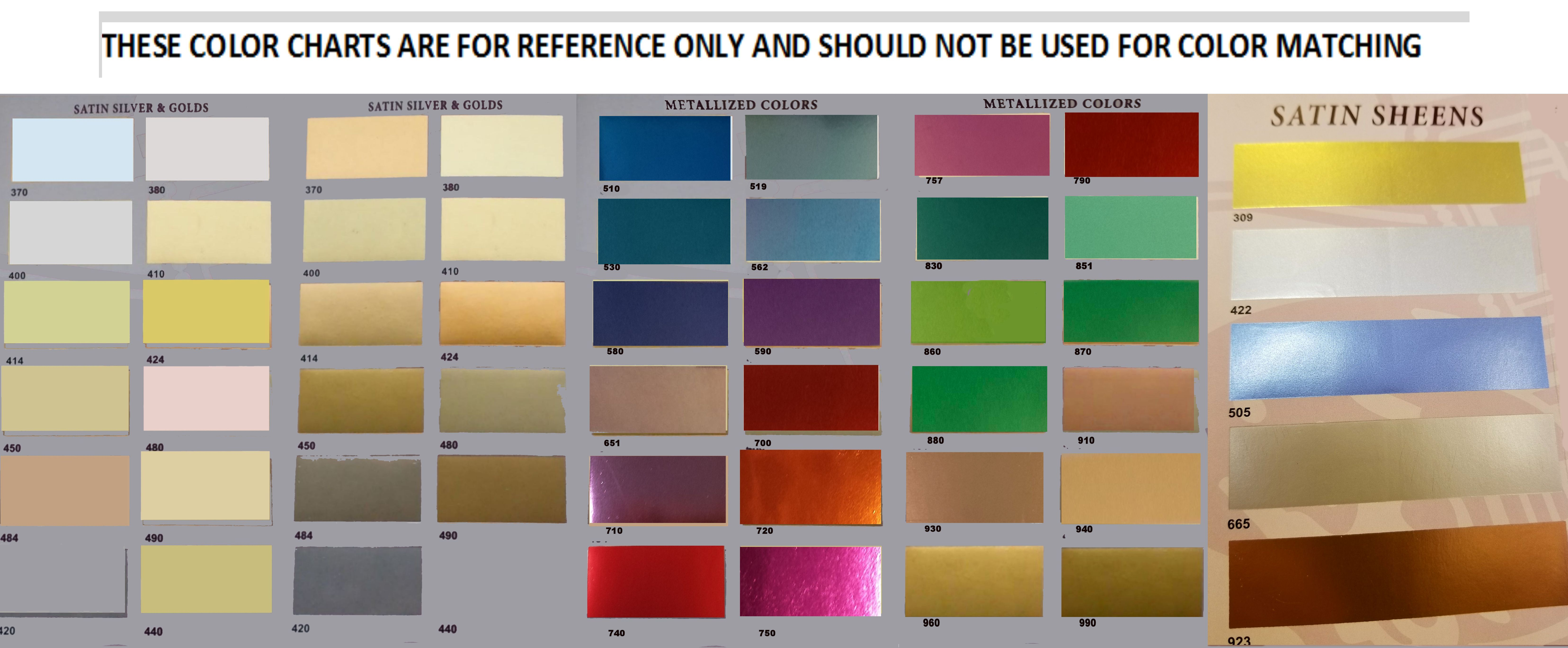 Color charts actual color charts may be requested using the link below nvjuhfo Images